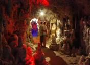 Геленджик - Медвежья пещера - первая модель карстовой пещеры в России